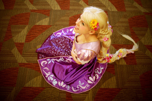 Disney Week (Day 7):  Rapunzel from Tangled
