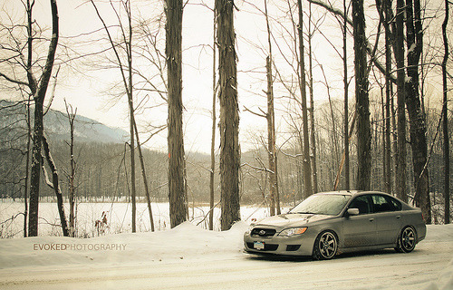 New england state of mind Starring: Subaru Legacy (by Evoked Photography)