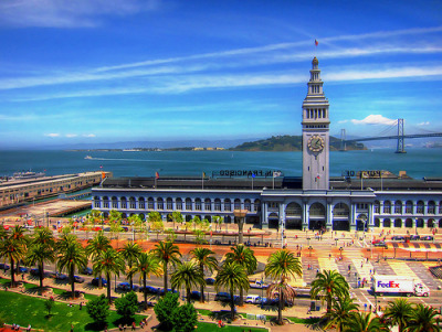 theworldwelivein:  San Francisco's Ferry Building  |  San Francisco, California © photosbyjas