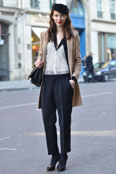 i am all about the cropped pants this season. actually, next season since it is still winter here on the east coast. hmph.
