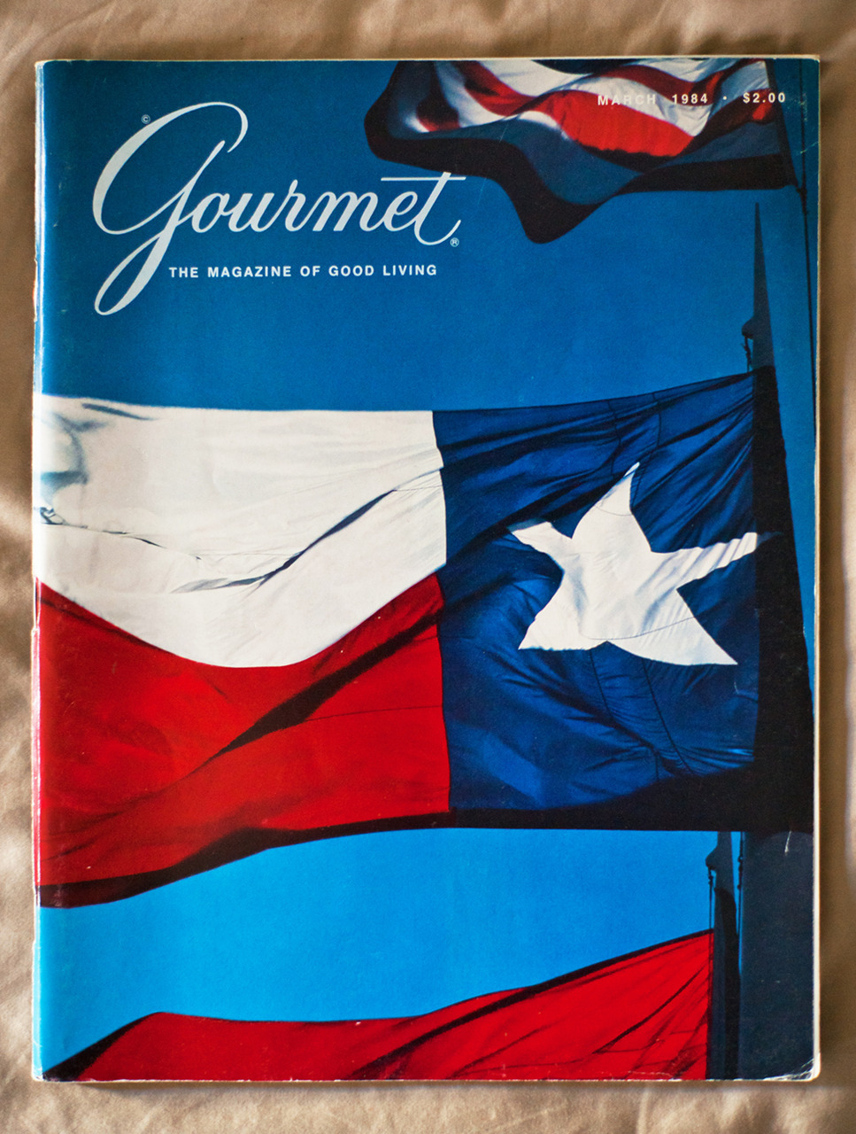 Gourmet: March 1984