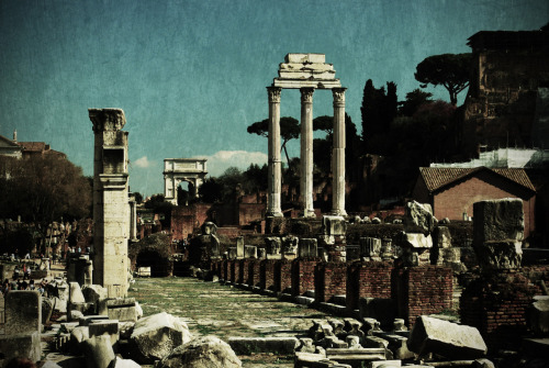 Part of the Roman Forum.