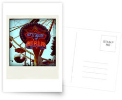 "I just have sold:  (""Star of Berlin…"" Greeting Card)"