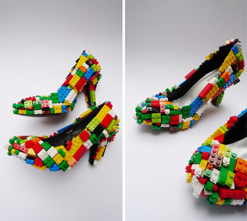 wheresthejeopardy:  Lego stilettos. (via designmilk)