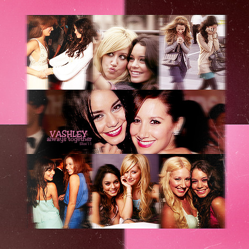 Vanessa Hudgens & Ashley Tisdale, VASHLEY FRIENDSHIP, by me.