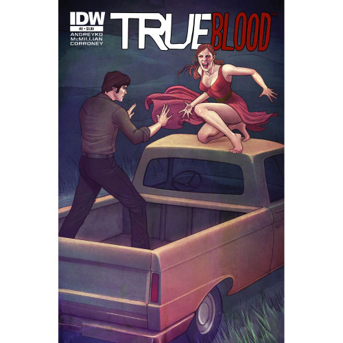 Market Monday True Blood: Tainted Love #2, cover by Jenny Frison