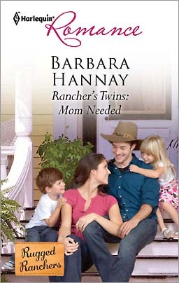 [Rancher's Twins: Mom Needed] In my world, this cover's only image is a handmade sign that is clearly made by the children. I mean, why not go all the way?