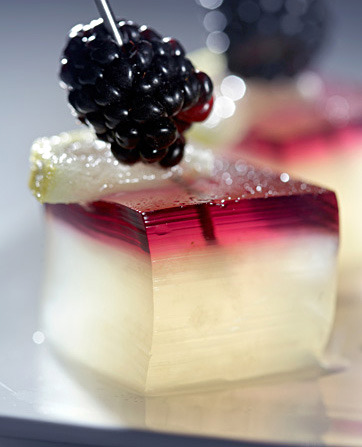 Bramble jelly shots.  See the recipe at NYT Magazine.  via creativeinspiration