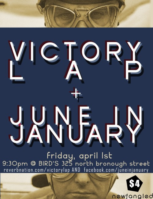 We're playing this Friday night with Victory Lap! Come hang and get your funk on.