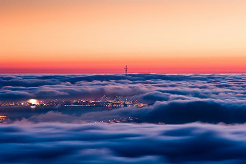 photojojo:  Our city sure is pretty. (That'd be San Francisco!) Photo by Alex Zyuzikov