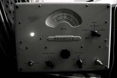The all valve audio oscillator.