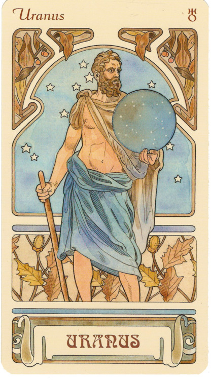 Uranus, ruling planet of Aquarius