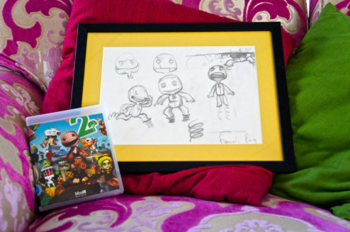 Auction: Media Molecule's Framed Concept Art & Rare In-Game ItemYou might have noticed on Friday that our friends at Media Molecule posted five huge auctions. In case you haven't, here's the the lowdown on four framed pieces of concept art and the rarest of rare in-game items a LittleBigPlanet fan can possess.Concept Art #1 | Concept Art #2 | Concept Art #3 | Concept Art #4 | Sackboy Crown DLCThe sketches:Hello treasure hunters! This is an auction for a signed, framed original piece of LittleBigPlanet concept artwork, and a signed copy of LittleBigPlanet for PS3. Shall i go on?Signed original framed concept artworkThe artwork is by the very sexy Francis Pang, the chief creator of Sackboy, and shows some ideas for the development of our beloved hessian chum, and if we may be so bold, a piece of gaming history. In the words of Indiana Jones, this belong in a museum!There are four of these pieces of artwork, each one is different, and as they are the originals, they unique. It comes all nice and framed, by a local pro. See our other auctions for the other three, plus more things!Gadzooks! A super special signed copy of LBP2We're also going to include a copy of LittleBigPlanet 2, which comes with a customised mega uber rare 'Mm Special edition' box art slip that has been signed by the whole team here at Media Molecule. There are only a small number of these custom covers in existence, as they were originally intended to be owned only by Media Molecule staff.The game inside can be a US, EU or JP copy – your choice!If you're looking for something with more online bragging rites, how about a crown for your Sackperson?This is an auction for an in-game crown item for your Sackboy for use in LittleBigPlanet 1 and 2 on PlayStation 3.These are very rare, and usually reserved for competition winners and people who go above and beyond the call of duty.This is your chance to buy yourself into royalty. Some may see this as cheating (OMG), but by winning this item you will be aiding people in need, and we think that is very worthy of recognition indeed. Naysayers be damned, this is the real deal!The concept art auctions close on April 1 in a 15-minute window between 07:01:14 PDT and 07:16:14 PDT. The Crown DLC auction closes a few minutes later at 07:28:47 PDT. All proceeds will benefit the American Red Cross.
