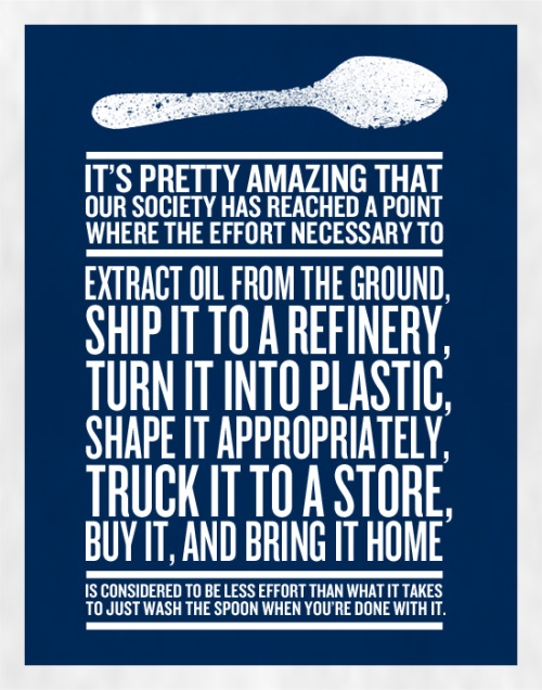 envirolutionary:  How appropriate…our addiction. Oil—to plastic—goes back into the air and on the ground…landfill waste.