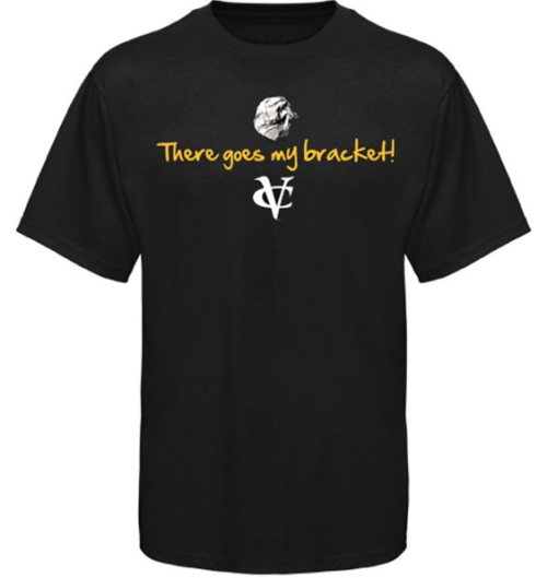 "Excellent VCU Final Four t-shirt! ""There Goes My Bracket"" sportsnetny:  I LOVE THIS! - VCU ""There Goes My Bracket"" Final 4 T-Shirts - @darrenrovell"