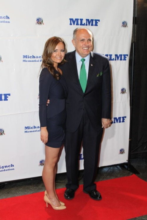 With the man, the myth, the Mayor: Rudy Giuliani.