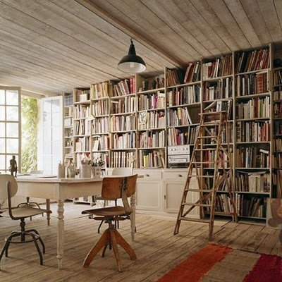 sammanntha:  I have dreams about a bookcase like this in my home. Phtoto source: http://www.kirstyhelen.com/search/label/interiors