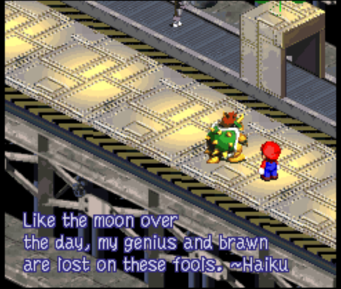 fearandfaith:  oh bowser, what a romantic