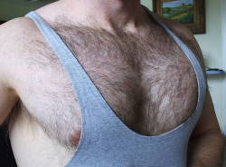 Luscious Chest hair.