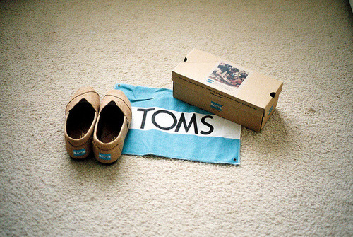 TOMS Day Without Shoes is on April 5th; I did it last year and loved it! It was awesome walking around campus and seeing everyone who was taking part. I would like to do it this year, but I'm not quite sure how that would work out…I have a feeling there would be fewer people at Walt Disney World going barefoot! =P