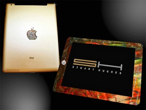 The diamond -encrusted gold iPad upgrade - B-bling and Ch-ching! via PSFK
