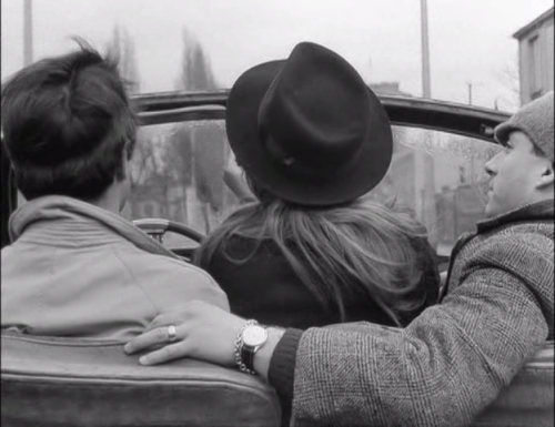 cinemafrancais:  Bande à part Band of Outsiders Jean-Luc Godard, 1964