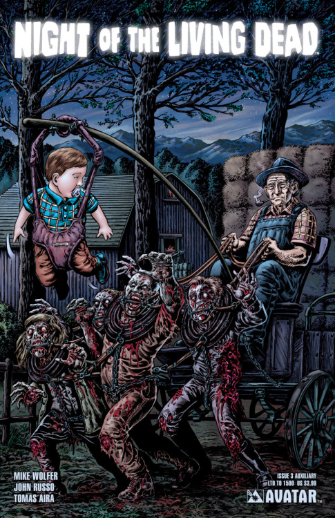 quitzi:  Har! Die Cover der Night of the Living Dead Comics von Avatar Press werden auch immer…naja eben so.