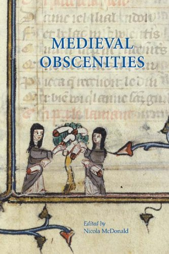 The image on the cover of Medieval Obscenities (shown above) will be featured in Metamorphic Genitalia and Fantastical Sexual Images, after an idea of Paul Rumsey.