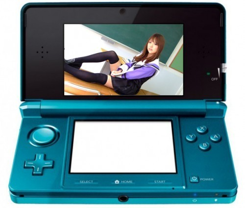 Pictures of hot girls in 3D on 3DS?FUCK YEAH. Um, I mean. Thats not acceptable, Nintendo should srsly do something against that.