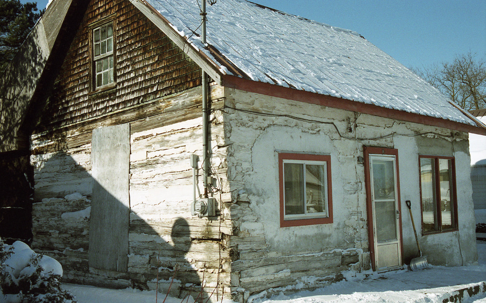 easily one of the oldest houses in penetanguishene - 2003