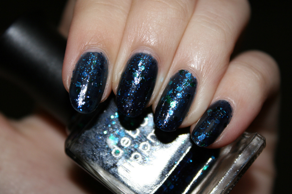 Deborah Lippmann - Across the Universe (3 coats, with flash)