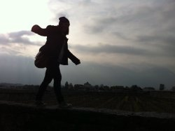 Me in Aigle in Switzerland, it was a fantastic day full of old school castles and the vineyards and dodgy men :D