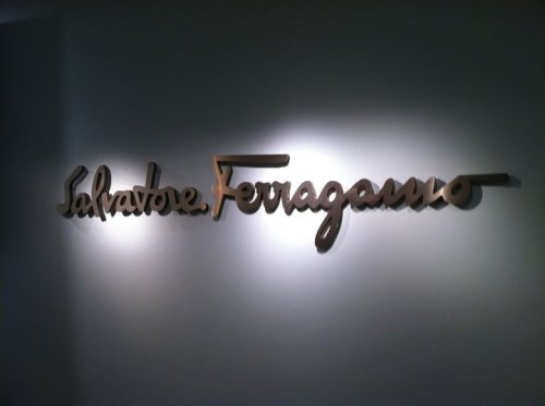 Salvatore Ferragamo. Let's go inside…