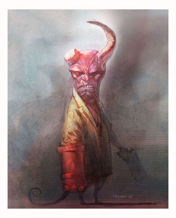 Hellboy by Ivelin Trifonov