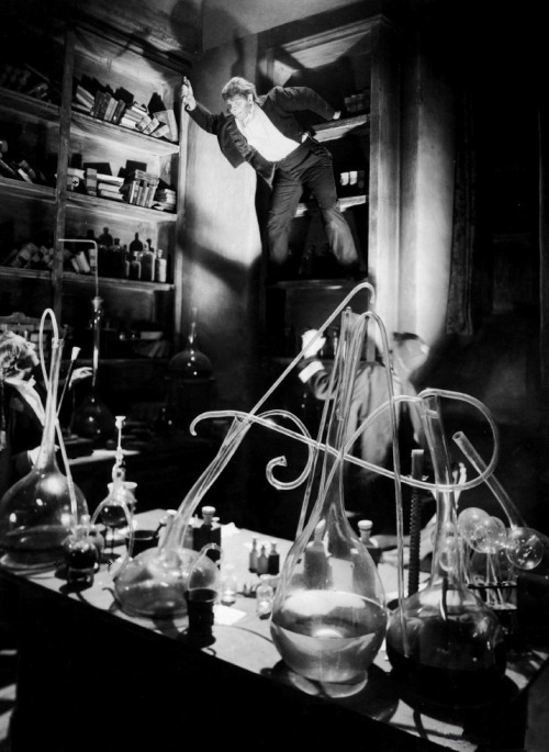 Fredric March as Mr. Hyde in Dr. Jekyll & Mr. Hyde (1931, dir. Rouben Mamoulian) Photo by Gordon Head.