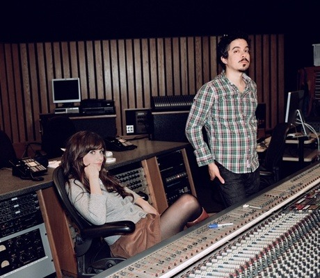 She & Him: Zooey Deschanel and M. Ward.