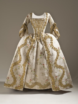 omgthatdress:  Dress ca. 1760-1765 via The Los Angeles County Museum of Art