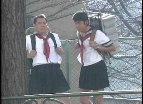 yepperoni:  just two 13 year old girls goin to school