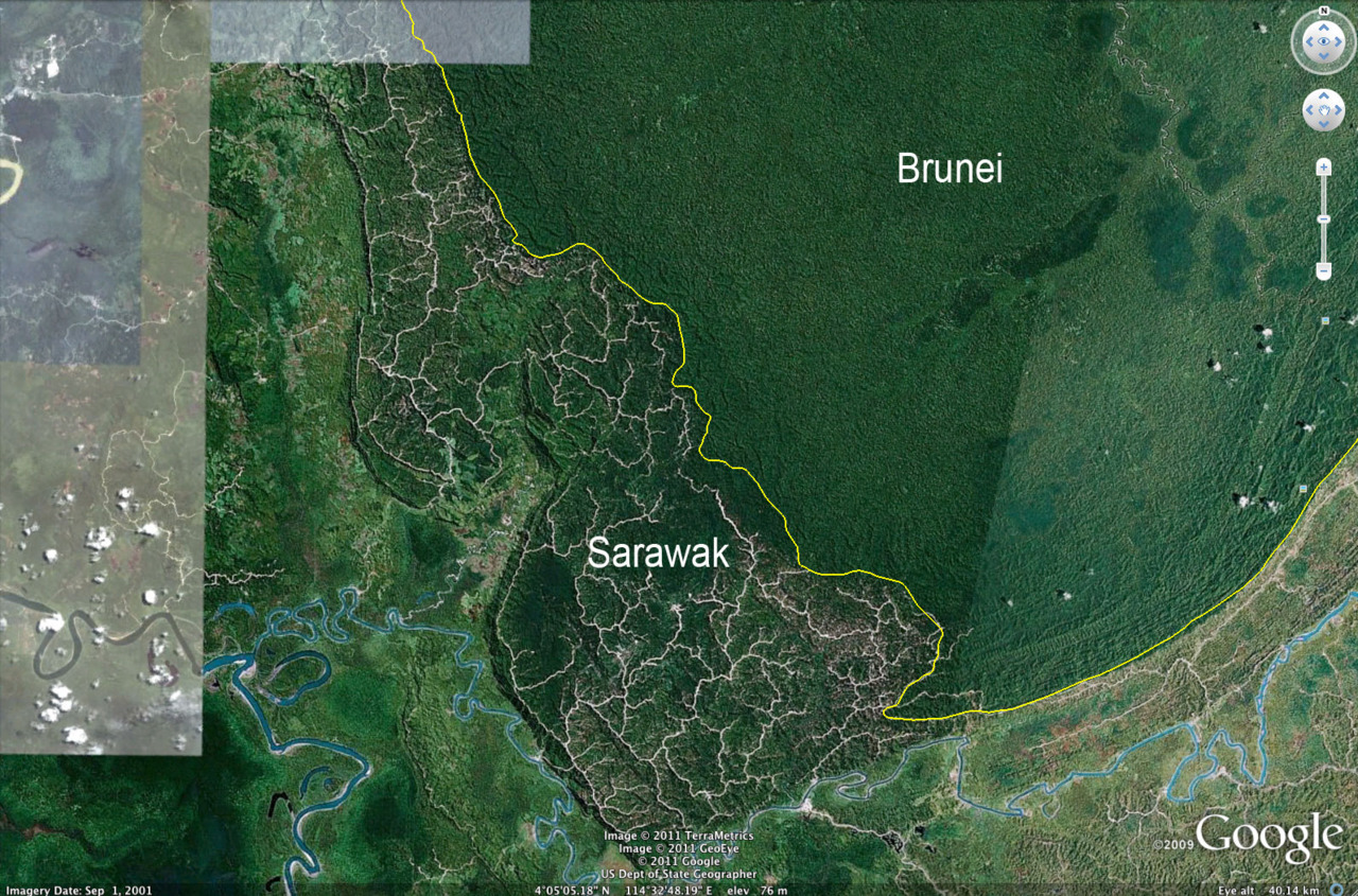This photo clearly illustrates the damage done by the logging industry in Sarawak. Its sad to see the logging roads spreading like a cancer through a part of my country. Environmentalists claim 90% of the forest is gone. The Chief Minister, Taib Mahmud, claims its only 30%. I think both parties use different definitions of 'forest' to suit their agenda, but look at the photos! Read the article for more.