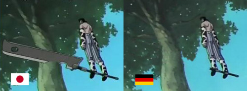boredexistence:  In Germany their ninjas float on sticks.