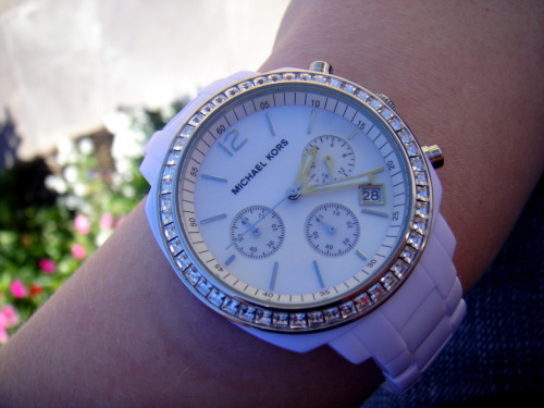 loving my new MK watch!
