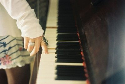 i love the piano.