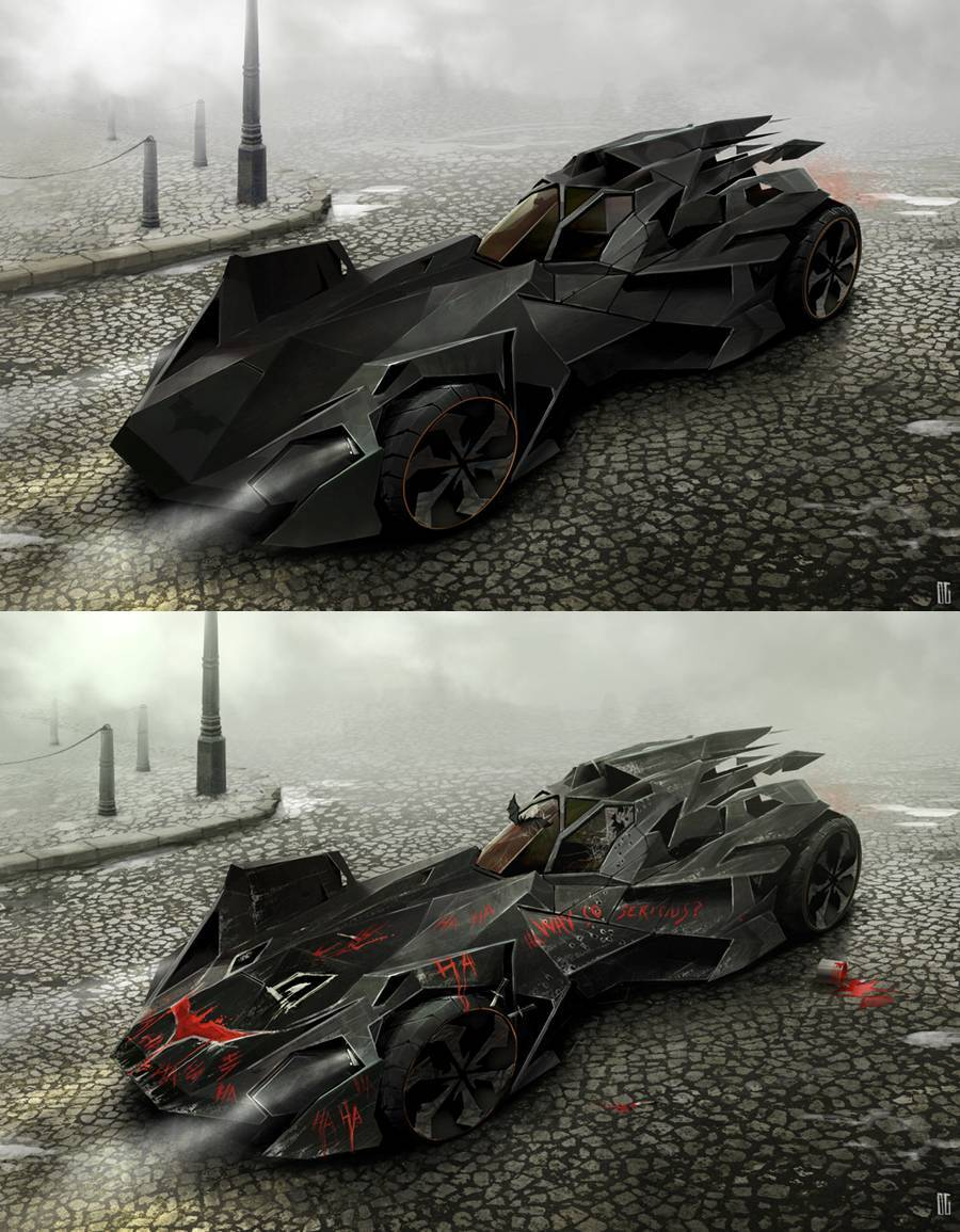 Batmobile by Danny Gardner