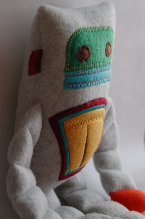 Robot Plushie Medium