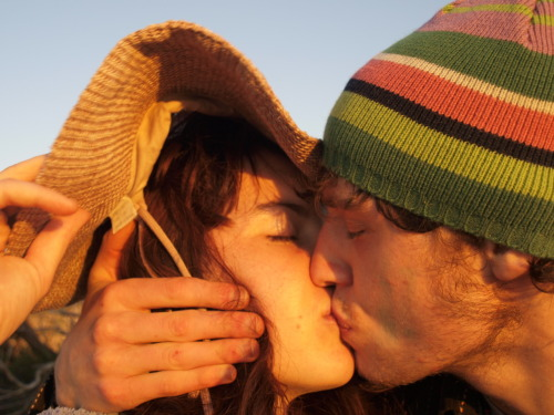 Sam and I kissing on a small Island at Sunset. Sam's love is the one thing that has been helping me throughout all these recent changes. You feel like home. I love you.