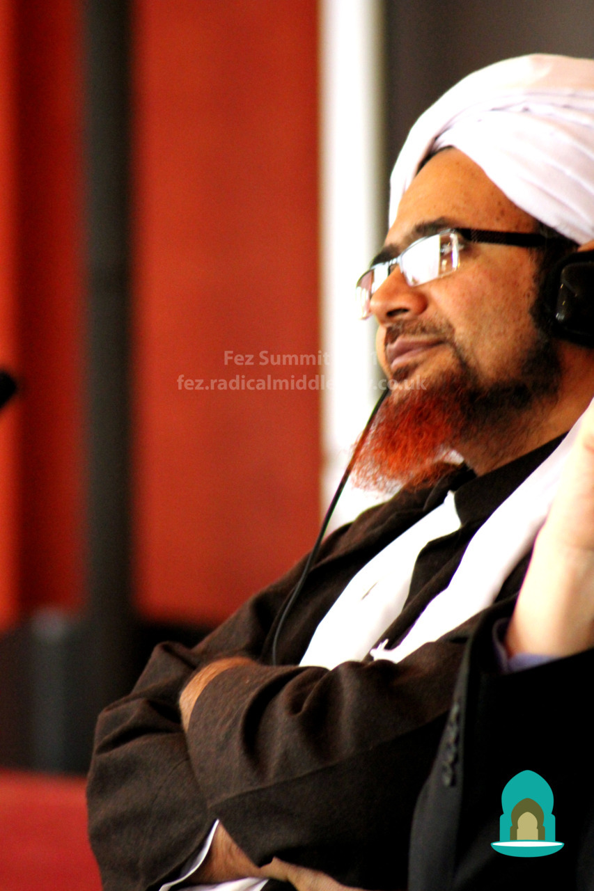 Habib Umar bin Hafiz at the Fez Summit
