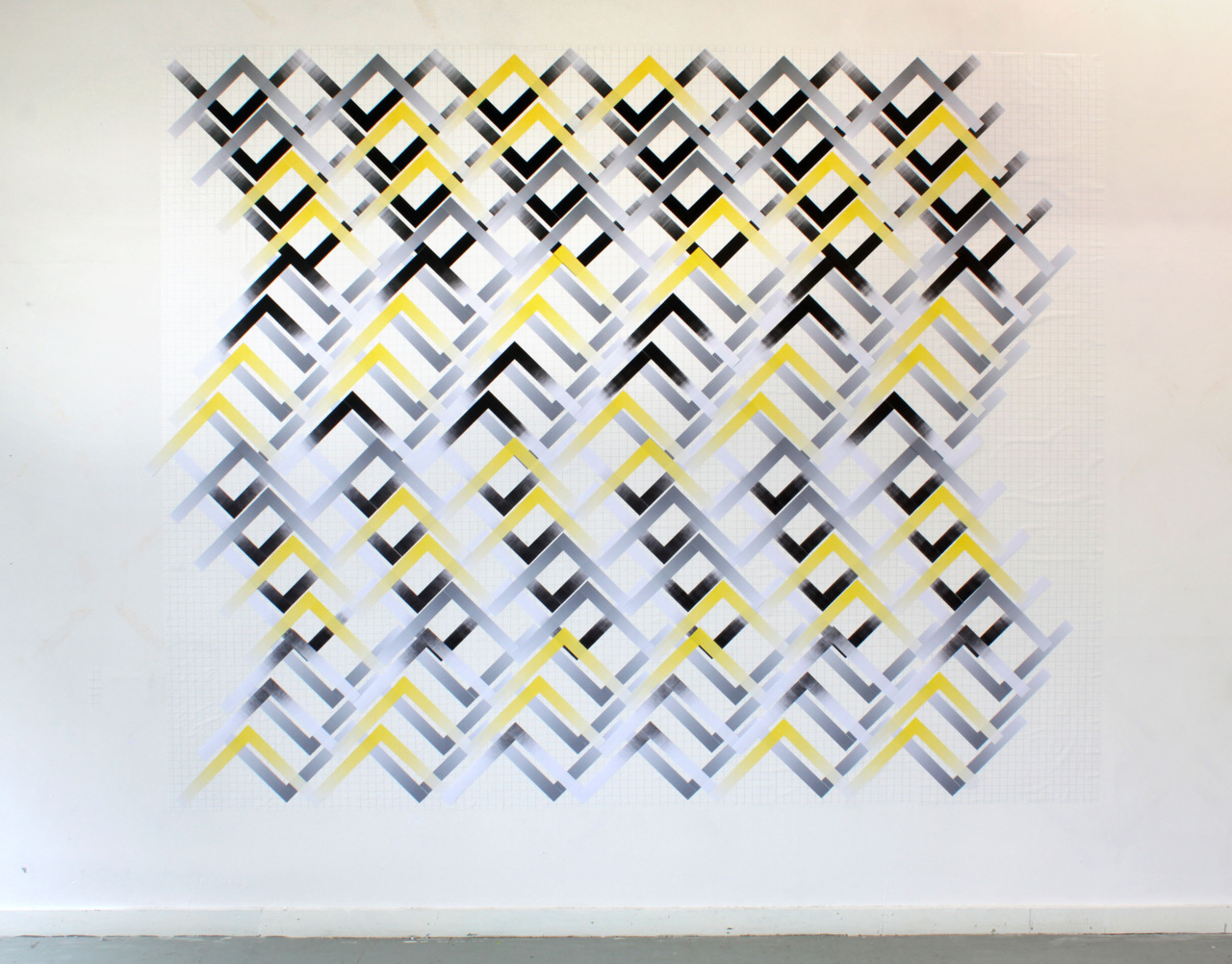 Utopia2011 Paper, statically charged polypropylene240cm x 300cm