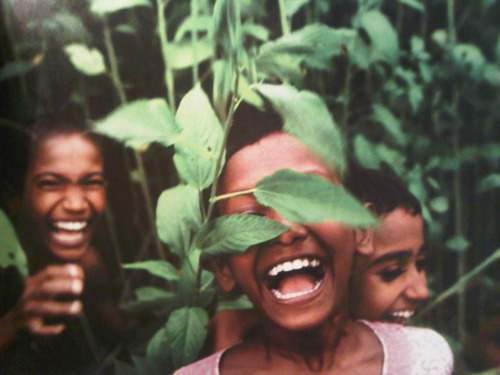 Children playing in jute crops in Bangladesh.  look at those smiles; true happiness. such innocence and purity.