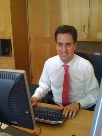 Ed Miliband comes across 'Leaders Looking Cool'. Unfortunately Ed will never look cool, nor will he be a leader.