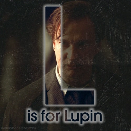 "The A to Z of Harry PotterL is for Lupin""Professor Remus John Lupin was born on 10th March 1960. At a young age, he was bitten by the werewolf Fenir Greyback, meaning that he himself was a werewolf. Every month, he would transform into a savage beast; so for the safety of Lupin and his peers, Professor Dumbledore escorted him to the Shrieking Shack to do it safely. The howls from the Shack is what gives the Shrieking Shack the title of 'The Most Haunted House in Britain'. Remus married Nymphadora Tonks, and had a son called Teddy. Whilst fighting at the Battle of Hogwarts, Remus and his wife were murdered at the hands of Death Eaters."""